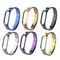 Steel Watchband Bracelet Metal Watch band Chain Strap For Xiaomi Mi Band 4