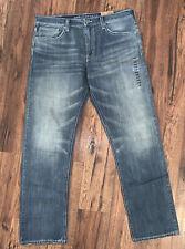 American Eagle Men's 38x36 Relaxed Straight Medium Wash Denim Jeans -RARE!! New