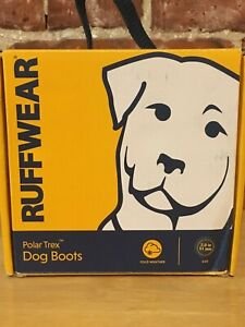 Ruffwear Polar Trex Dog Boots. Size 2.0 Inches Good for medium to large dogs.