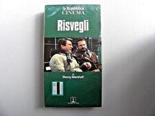 """VHS VIDEOCASSETTA """" RISVEGLI """" UN FILM DI PENNY MARSHALL USA 1990"""