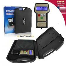 Digital Electronic Refrigerant Charging Scale Meters 220 lbs with Case A/C HVAC