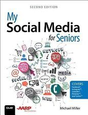 My Social Media for Seniors, Michael Miller (2017) 2nd Edition SIGNED free ship