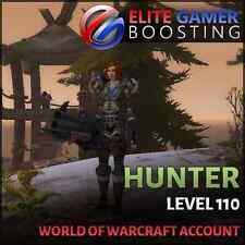 WoW Account Gladiator Hunter Jäger 110 Legion WQ + 3rd Artifact
