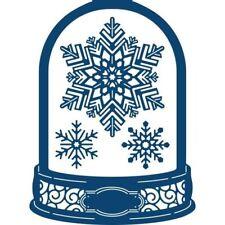 Tattered Lace Fantasy Noël Snowglobe Carte Forme Die Set-TLD0543