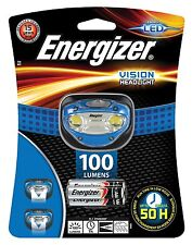 Energizer Vision 100 Lumens LED Headlight Hands Free Headtorch Headlamp