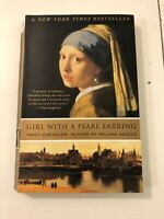 Girl with a Pearl Earring - Tracy Chevalier (2001, Paperback, Reprint)