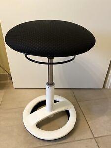 Sitzhocker Ergonomischer Schwinghocker Bürostuhl Hocker Weiß Bürostuhl