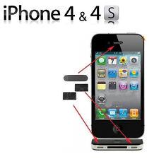 Grille Anti-Poussière de Remplacement 3 Pièces pour Apple iPhone 4 et 4S