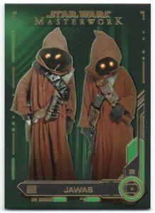 2019 Star Wars Masterwork Green 35 Jawas /99