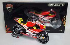 "MINICHAMPS VALENTINO ROSSI 1/12 DUCATI MOTOGP ""TEST SEPANG 2011"" SOFT TIRES"