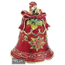 Craycombe Trinkets 6027 Christmas Red Bell Trinket Box