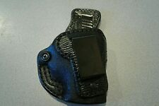 High Noon Holsters,Down Under, black SHARK SKIN, R/H fits Kahr MK9/CM9and PM9