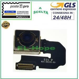 FOTOCAMERA POSTERIORE BACK CAMERA PER APPLE IPHONE 6S PLUS FLEX RETRO CAMERA