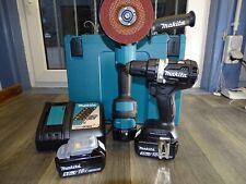 Makita Combo-Kit DDF484RTJ + DGA513ZJ, mit 3xAkku 2x 18V; 5,0Ah + 1x 18V;3,0AH