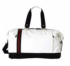 BRIDGESTONE GOLF BBG570 Classic Travel Bag White Fast Shipping From Japan EMS