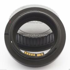 Tamron Adaptall-Canon EOS EF (all SLR/DSLR) with AF programmable dandelion chip.