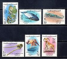 Libya National History set with fauna mnh vf complete 35.15
