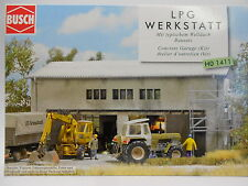 Busch 1411 Werkstatt, Autowerkstatt, Industriegeäude, Lagerhalle Welldach Neu HO