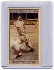 STAN MUSIAL PITCHER DAYTONA BEACH, FLORIDA STATE LEAGUE, RARE LIMITED EDITION