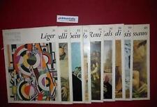 ART 9.664 N 10 FASCICOLI I MAESTRI DEL COLORE DA N 31 A 40 DEL 1964