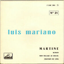 "LUIS MARIANO ""MARTINE"" 50'S EP  LA VOIX DE SON MAITRE 265"
