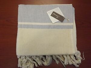 Turkish 50% Bamboo 50% Cotton Hand Loomed XL Bath Beach Towel Pestemal Peshtemal
