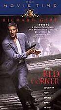 Red Corner VHS Video Richard Gere