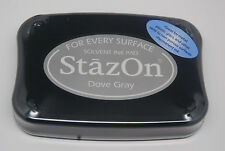 StazOn - Ink Pad -  Dove Gray