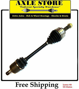 New Front Left CV Axle Fit 2007 2008 Acura TL 3.5L Type S Automatic or 3.2L Base