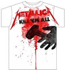 METALLICA - Kill 'Em All Splatter:T-shirt NEW:MEDIUM ONLY