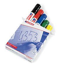 edding 800 Permanentmarker Strichbreite: 4-12mm Keilspitze im 5er Set