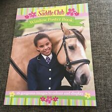 NEW. THE SADDLE CLUB. WINDOW POSTER BOOK. 9781760400217