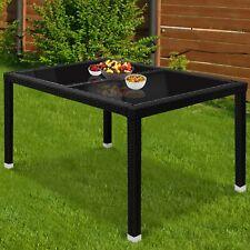 Polyrattan Gartentisch Beistelltisch Terrassentisch Balkontisch Gartenmöbel