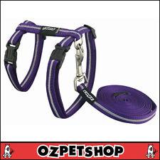 Rogz AlleyCat Cat Harness & Lead Set - Purple Small