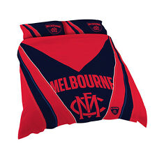 Melbourne Demons AFL KING Bed Quilt Doona Duvet Cover Set *NEW 2018* GIFT Idea