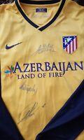 KOKE Filipe Godin Atletico de Madrid player issue & Signed shirt match un worn