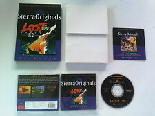 Lost in Time parts 1 & 2 SIERRA PC FR Box carton