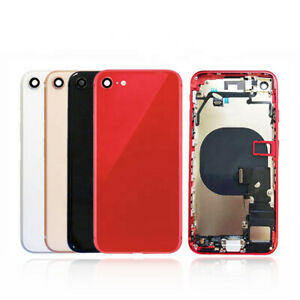 OEM iPhone 7 Glass Rear Back Metal Rear Housing Replacement Frame