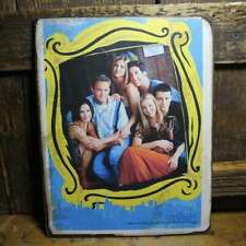 "11"" FRIENDS tv show handmade wood sign pop ART Wood Vtg style Sign"