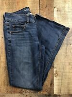 """American Eagle Artist Medium Wash Low Rise Boot Jeans Size 6S. 28x28x8"""""""