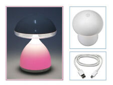 Lampada led comodino touch multicolore dimmerabile luce fungo cameretta bambini