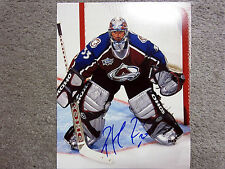 PATRICK ROY Colorado Avalanche Signed AUTOGRAPHED 8x10 Photo COA