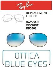 Lenti di Ricambio RAYBAN COCKPIT RB3362 filtri Replacement Lenses Ray Ban 002/4O