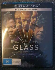 Glass 4K + Blu-ray (2 Disc Set) Brand New Sealed