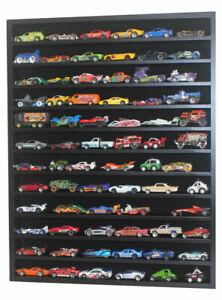 Hot Wheels 1:64 - 1:43 Scale Diecast Display Case Cabinet Shelf Unit, NO DOOR