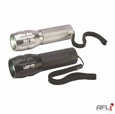 Lighthouse 3W CREE LED Elite Focus 3 Function Pocket Light Torch 210 Lumens