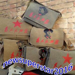 Chairman Mao Single Shoulder Messenger Bags Leifeng Pouch