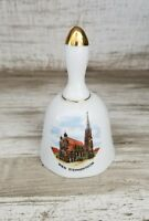 Vintage Ceramic Souvenir Bell- Wien Stephansdom