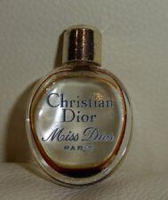 VINTAGE CHRISTIAN DIOR MISS DIOR PERFUME MINI EMPTY PEBBLE PERFUME BOTTLE