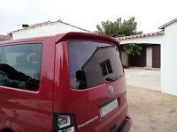 SPOILER For VW T5 Transporter Multivan TAILGATE REAR Door Heck ROOF Wing Bus Van